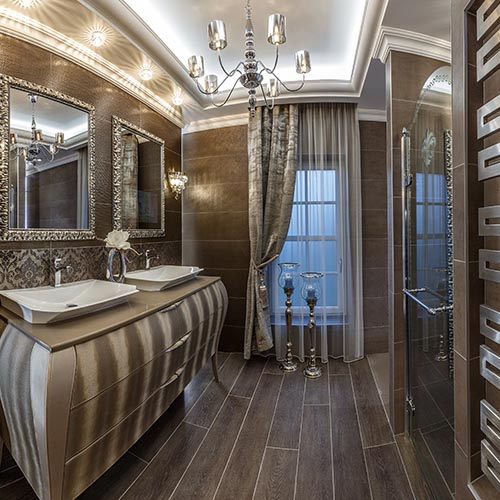 Bad Sanierung mit Bodenebene Dusche